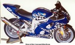 Production (Custom) Yamaha YZF-R6, Here is a closer pic. Thanks for the compliments.