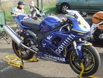 Production (Custom) Yamaha YZF-R6, My R6 2005 Rossi rep.