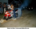 Stunts Yamaha YZF-R6, I was just looking over the New England Street Riders site and found this picture of this wicked hottie!
