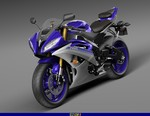 Production (Stock) Yamaha YZF-R6, Production (Stock)- Yamaha  YZF-R6 Sportbike