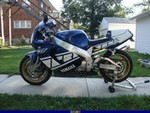Production (Stock) Yamaha YZF750R, Uploaded for: Shane E Peterson 1997 Yamaha YZF750
