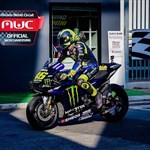 MotoGP Premier Yamaha YZR-M1 MotoGP, a person riding on the back of a motorcycle a person riding on the back of a Yamaha YZR-M1 Sportbike